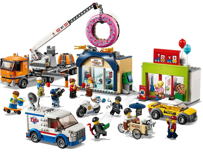 lego-city-donut-shop-opening-60233-inhalt-2019 zusammengebaut.com