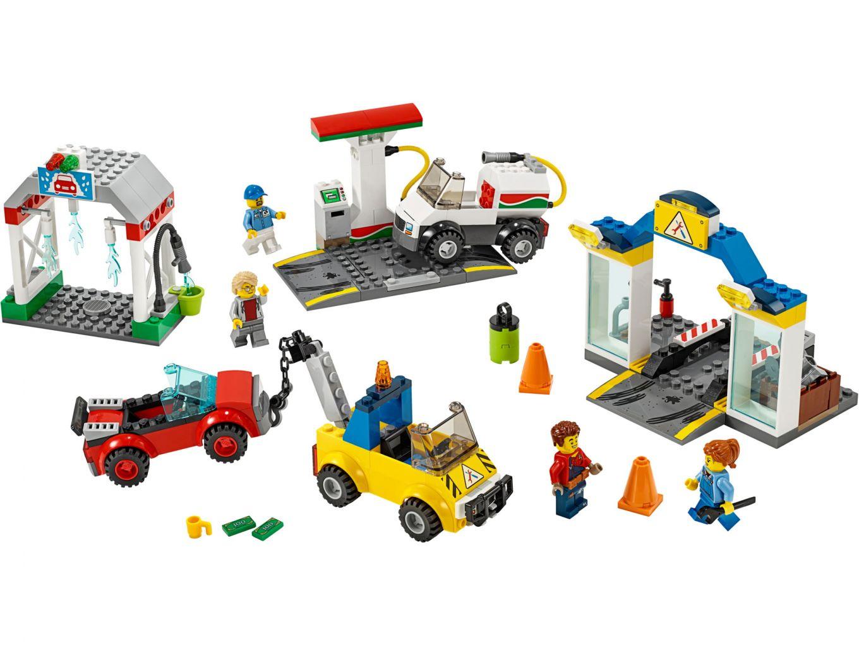 lego-city-garage-4-plus-60232-2019-inhalt zusammengebaut.com