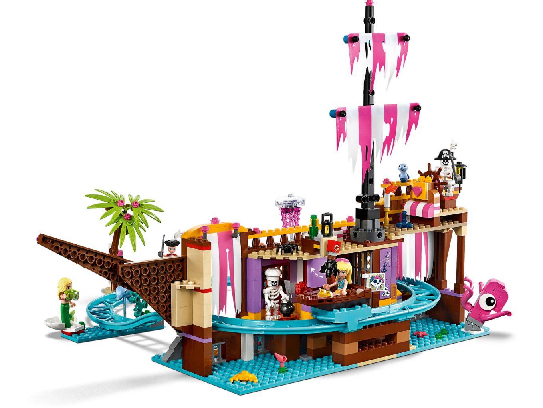 lego-friends-heartlake-city-fairground-pier-41375-bahn-2019 zusammengebaut.com