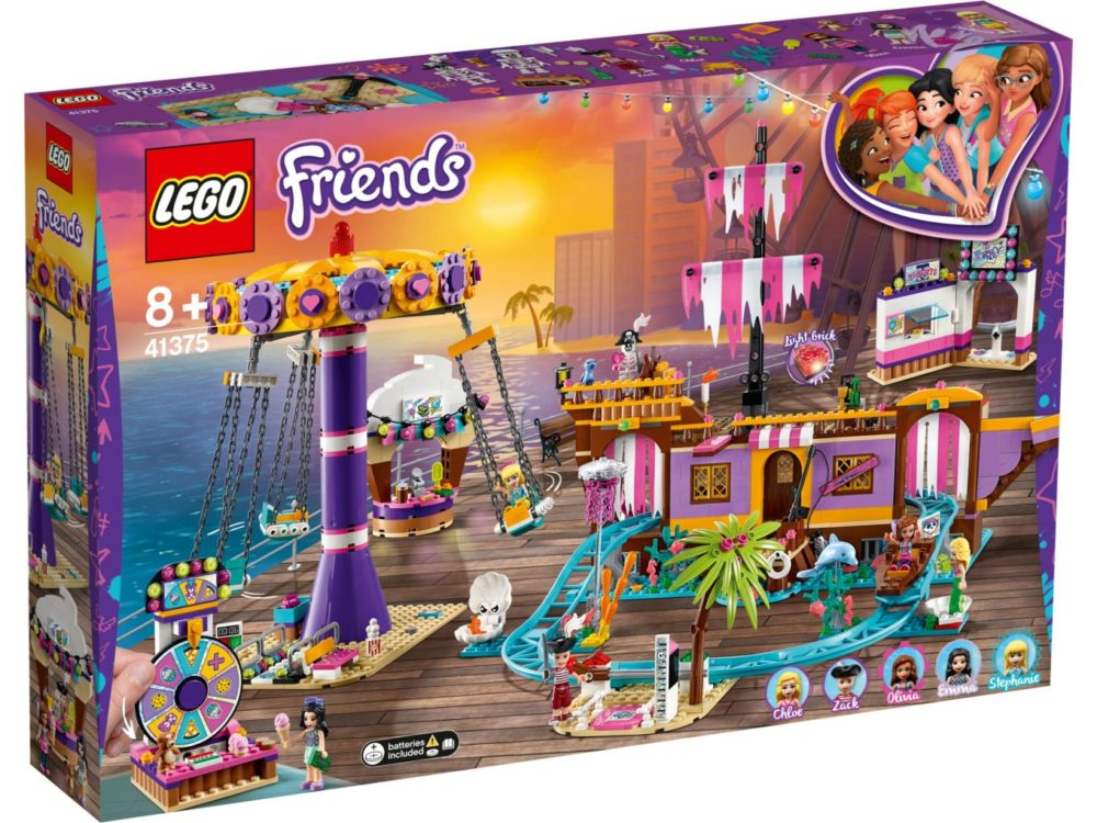 lego-friends-heartlake-city-fairground-pier-41375-box-2019 zusammengebaut.com