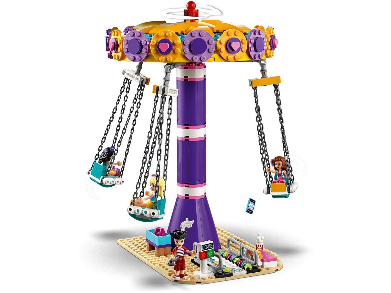 lego-friends-heartlake-city-fairground-pier-41375-kettenkarussell-2019 zusammengebaut.com