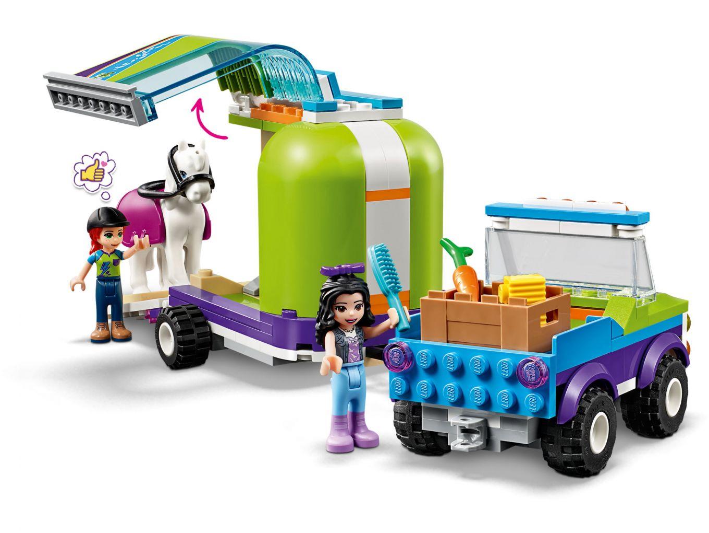 lego-friends-mias-horse-trailer-41371-inhalt-2019 zusammengebaut.com