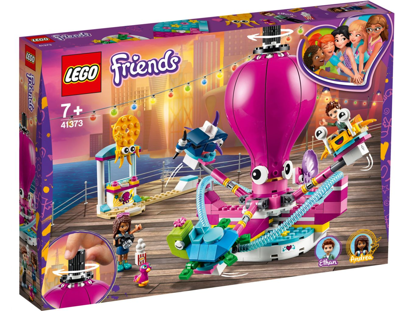 lego-friends-octopus-ride-41373-box-2019 zusammengebaut.com