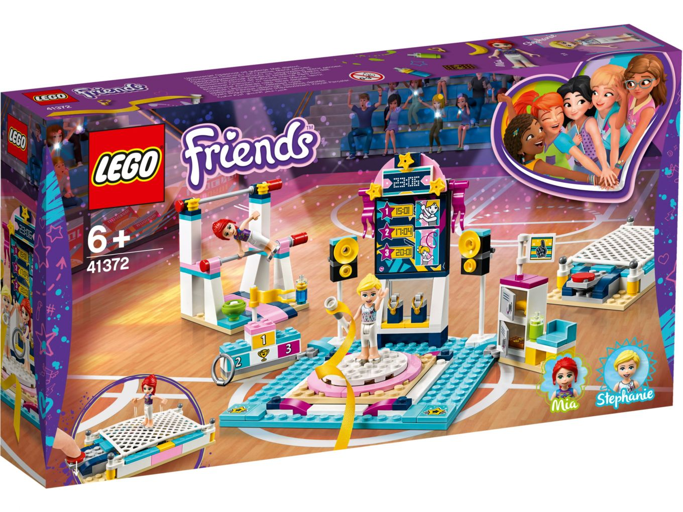 lego-friends-stephanies-gymnastics-show-41372-box-2019 zusammengebaut.com