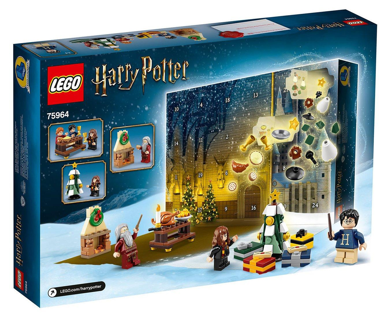 lego-harry-potter-adventskalender-box-75964-back zusammengebaut.com