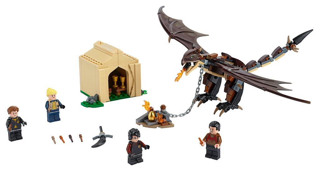 lego-harry-potter-hungarian-horntail-triwizard-challenge-75946-inhalt-2019 zusammengebaut.com