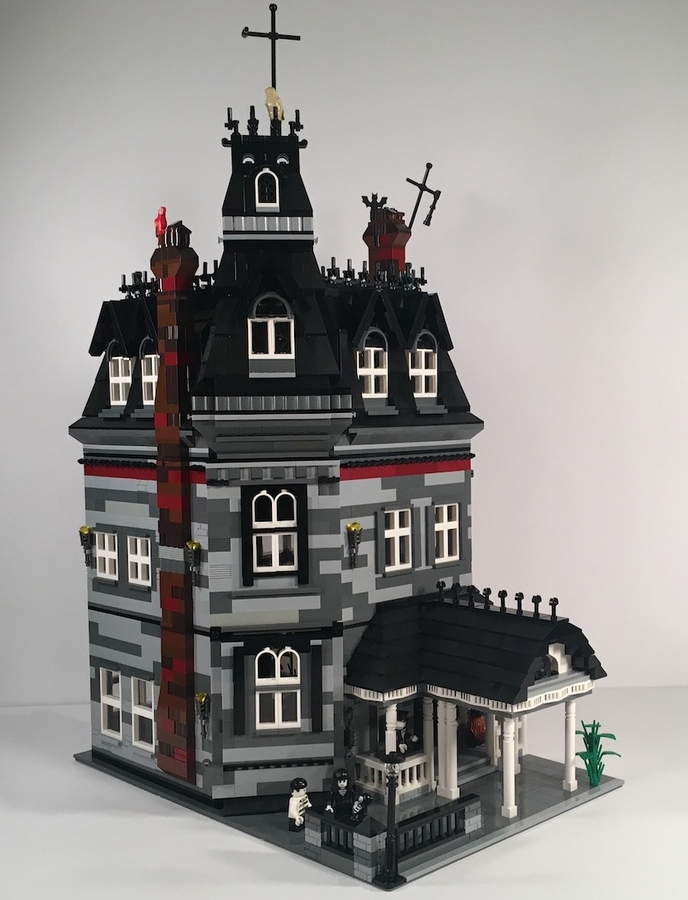 lego-ideas-addams-family-mansion-modular-afol777-2019 zusammengebaut.com