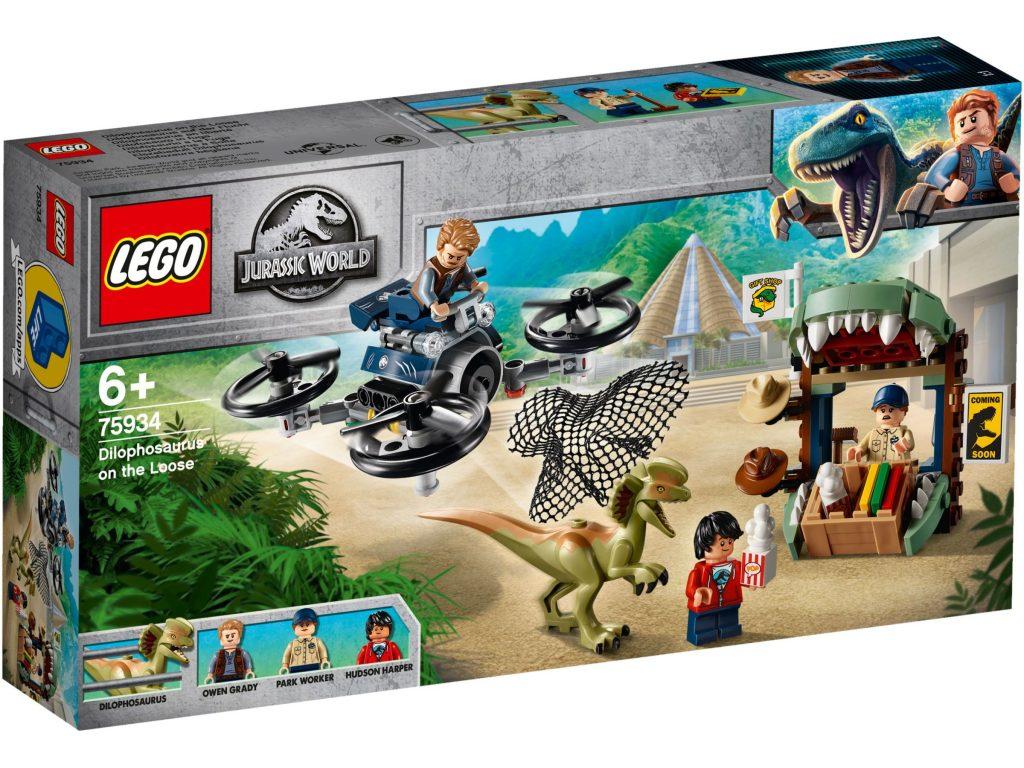 lego-jurassic-world-legend-of-isle-nublar-dilophosaurus-on-the-loose-75934-box-2019 zusammengebaut.com