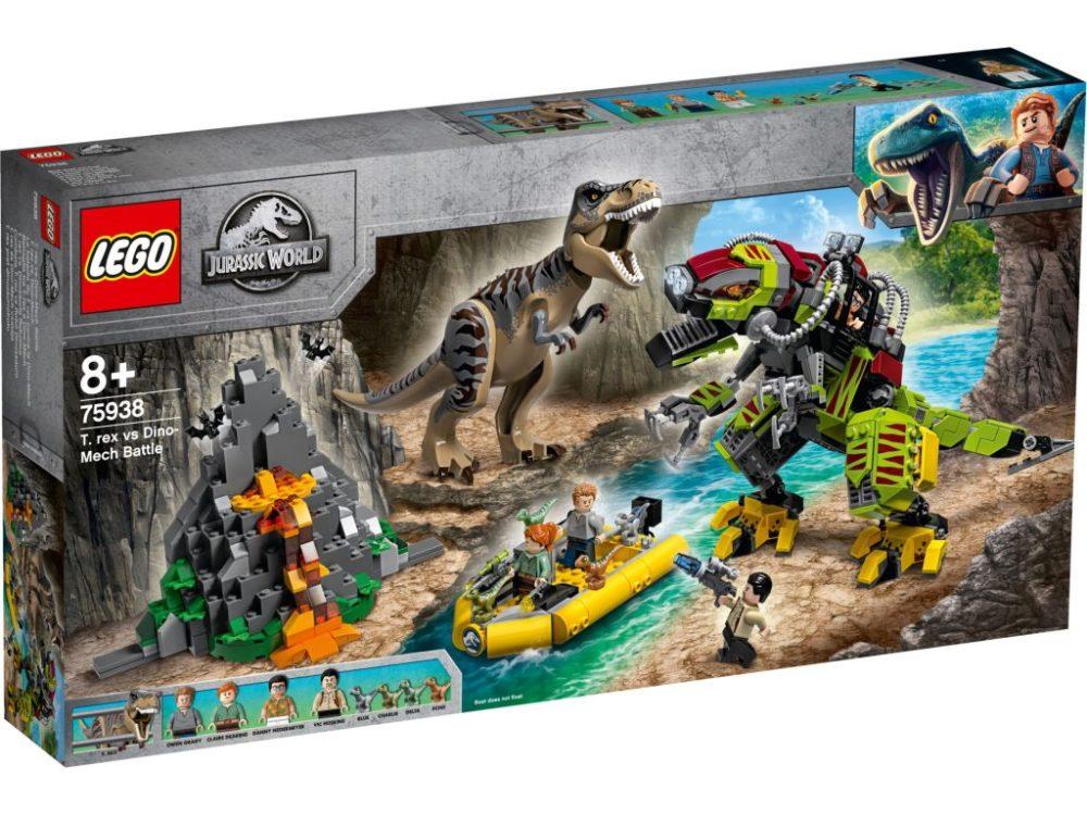 lego-jurassic-world-legend-of-isle-nublar-t-rex-vs-dino-mech-battle-75938-2019-box zusammengebaut.com