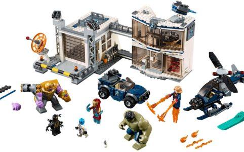 lego-marvel-super-heroes-avengers-hauptquartier-76131-inhalt-2019 zusammengebaut.com