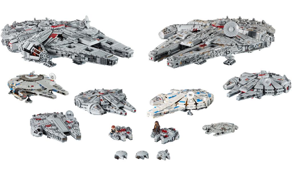 lego-star-wars-millennium-falcon-alle-sets-uebersicht-stand-2019 zusammengebaut.com