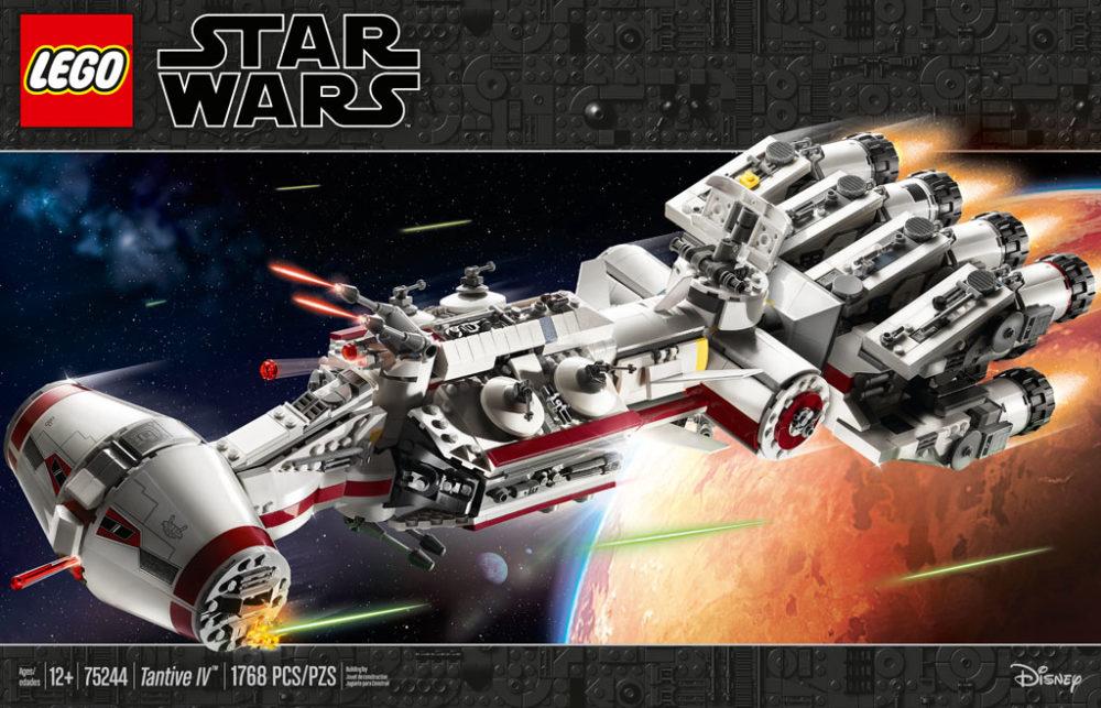 lego-star-wars-tantive-iv-75244-2019-front zusammengebaut.com