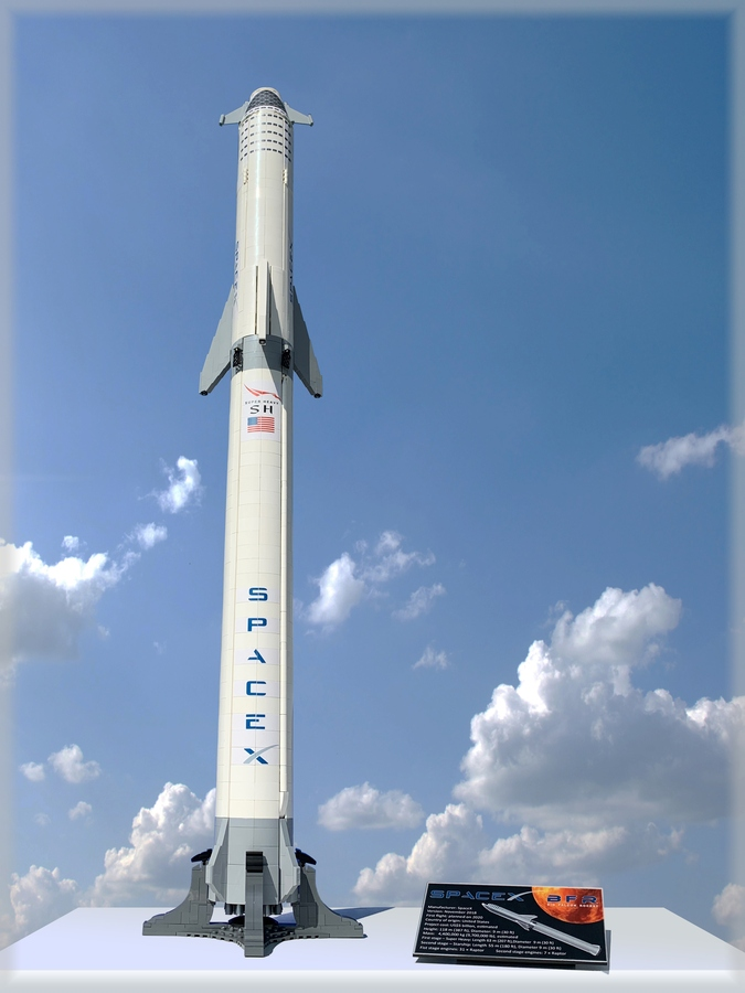 spacex-rakete-lego-ideas zusammengebaut.com