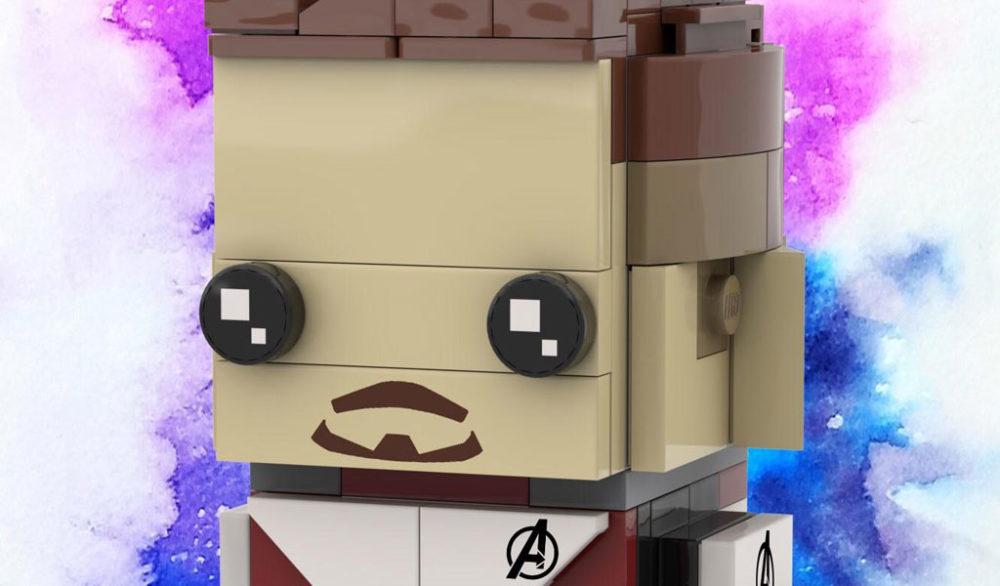 Brickheadz Iron Man by gman13579