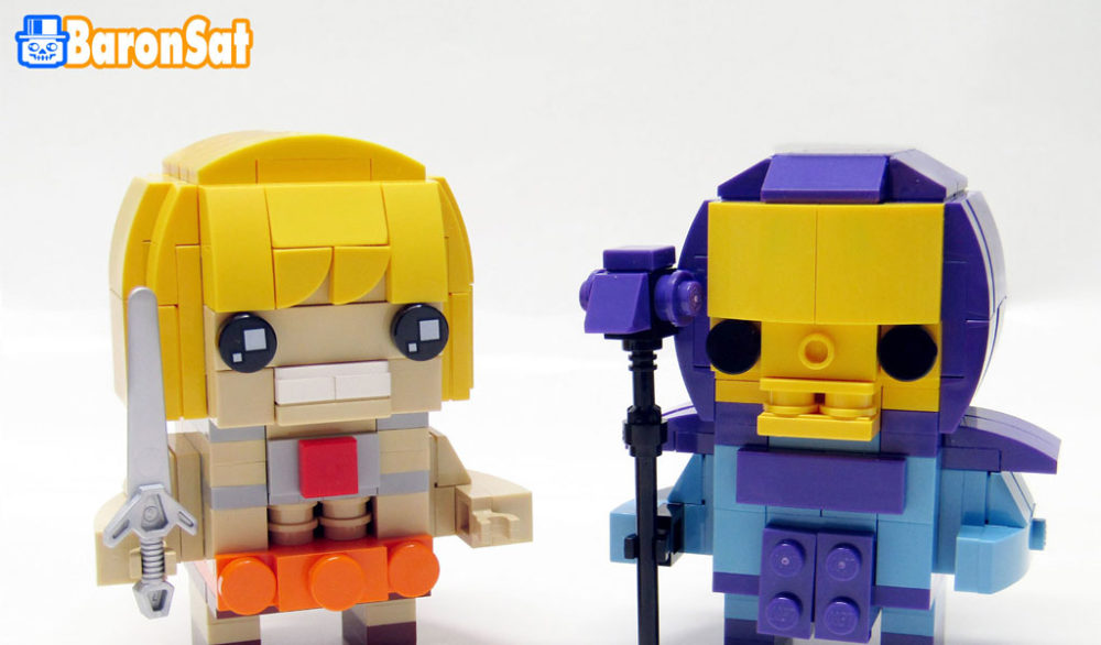LEGO He-Man and Skeletor by Eric Druon