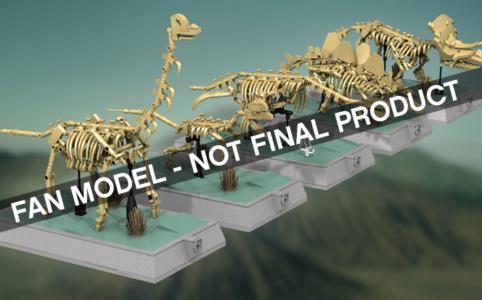LEGO Ideas: Die Dinos sind los. | © LEGO