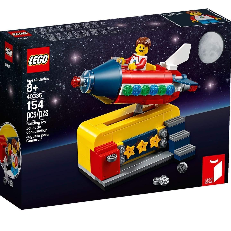 LEGO Ideas Weltraumrakete 40335