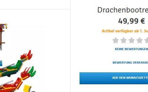 Lego 80103 Drachenbootrennen