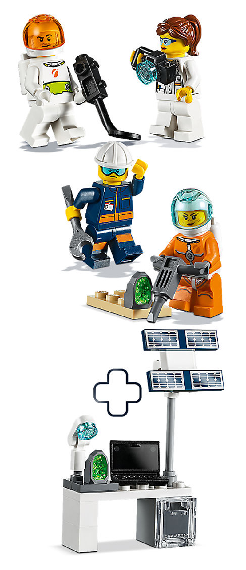 lego-city-mars-exploration-minifiguren-pack-inhalt-40345 zusammengebaut.com