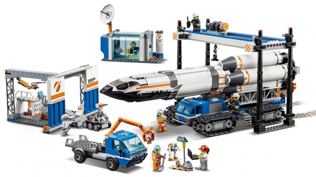lego-city-rocket-assembly-transport-raketen-zusammenbau-transport-60229-2019-inhalt zusammengebaut.com