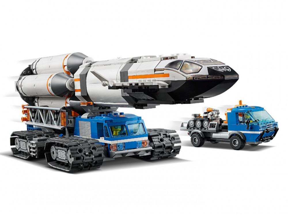 lego-city-rocket-assembly-transport-raketen-zusammenbau-transport-60229-2019-verladen zusammengebaut.com