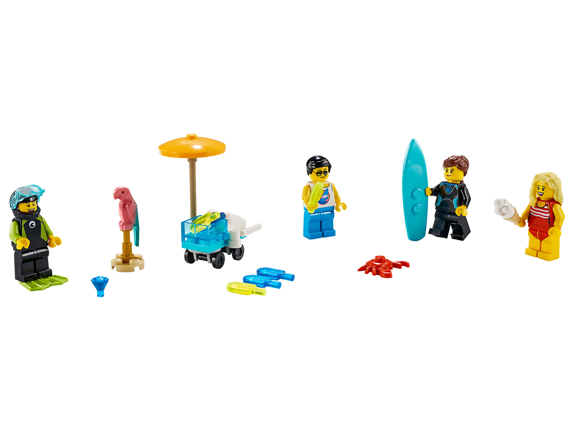 lego-city-summer-party-minifiguren-pack-set-40344-2019 zusammengebaut.com