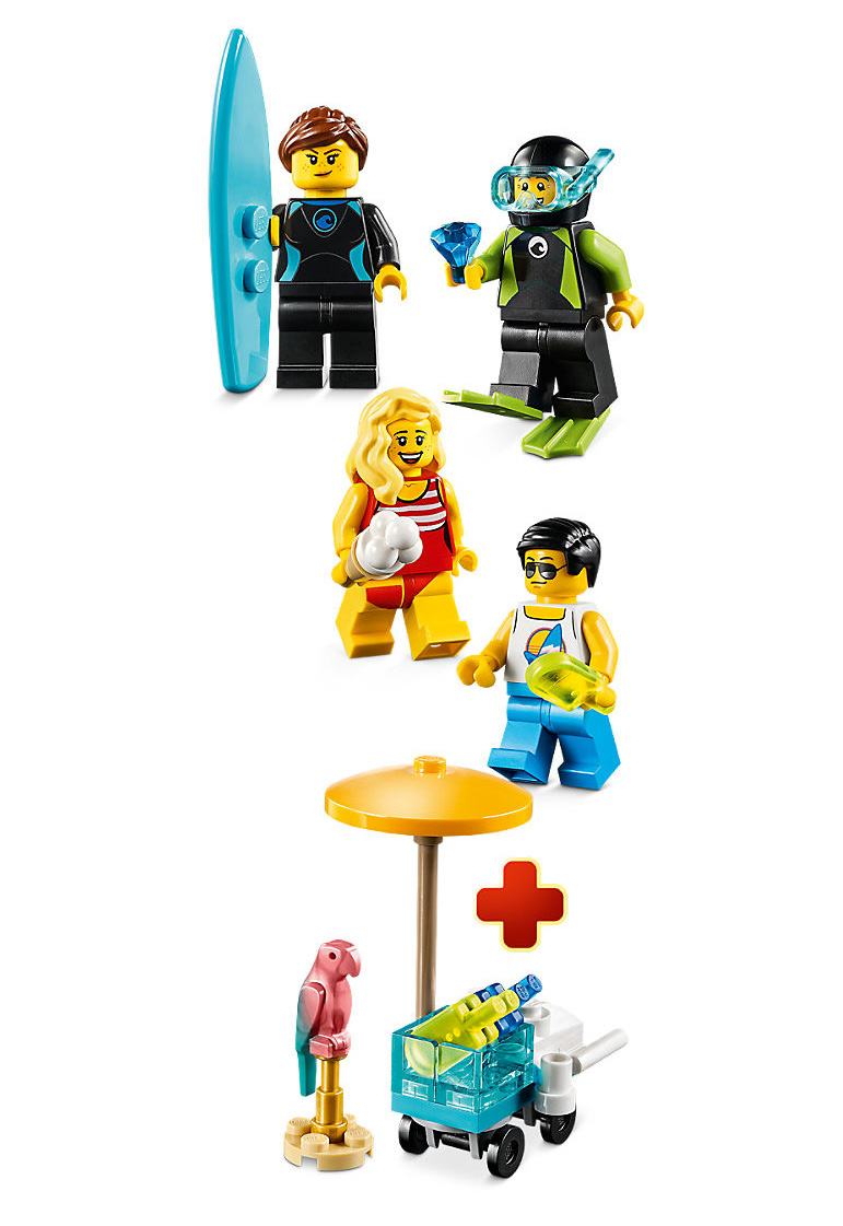 lego-city-summer-party-minifiguren-pack-set-inhalt-40344-2019 zusammengebaut.com