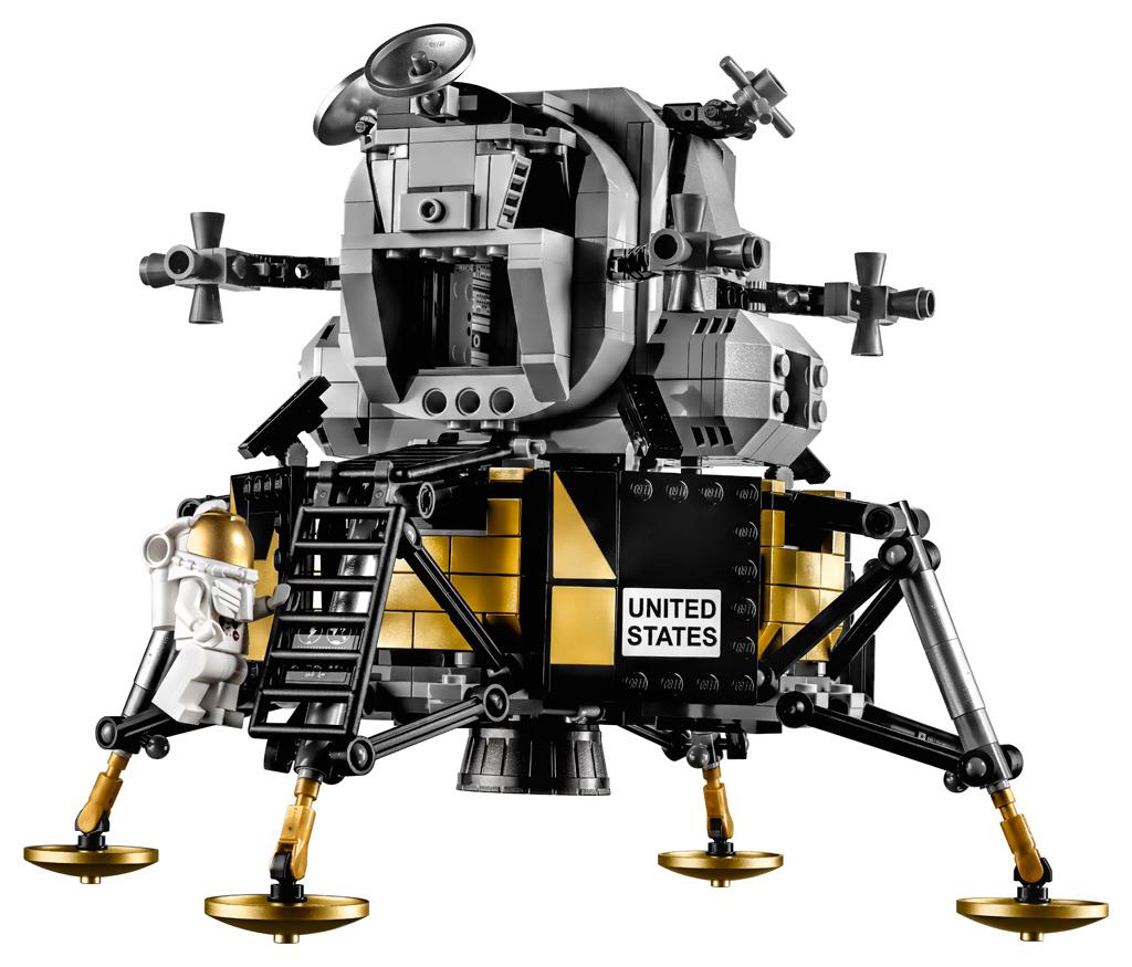 lego-creator-expert-nasa-apollo-11-lunar-lander-10266-mondlandefaehre-2019-front-ausstieg zusammengebaut.com