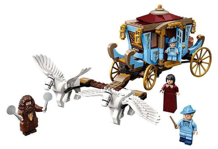 lego-harry-potter-beauxbatons-carriage-arrival-hogwarts-75958-inhalt-2019 zusamengebaut.com