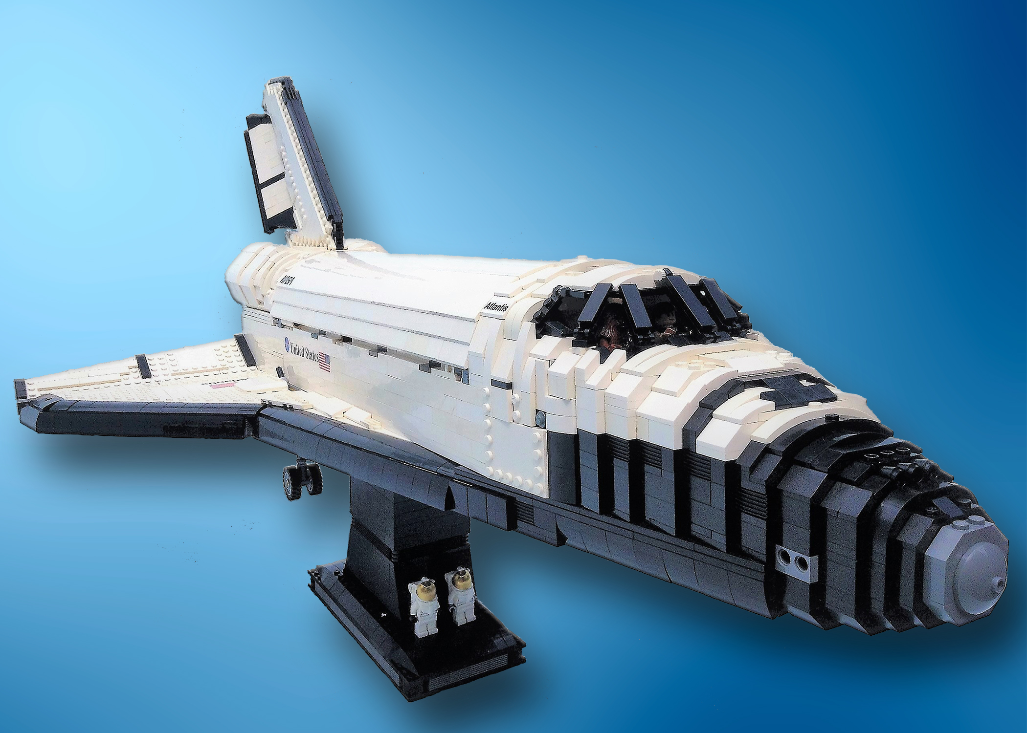 lego space shuttle and plane - photo #17