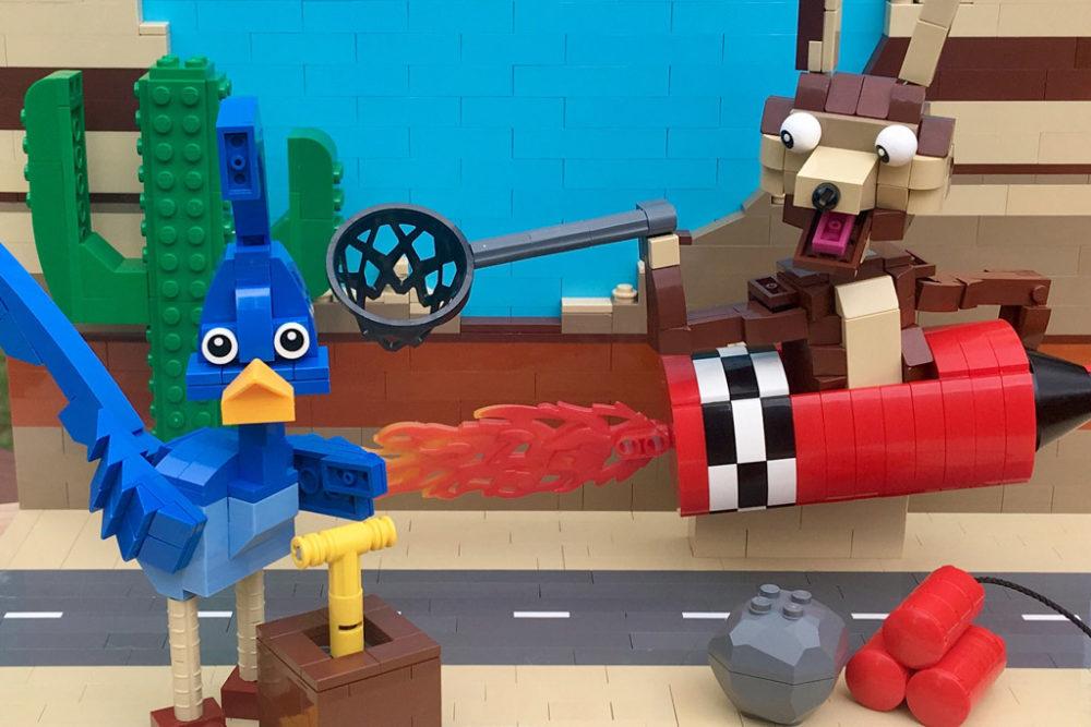 lego-moc-beep-beep-roadrunne-and-wile-e-coyote-chris-goddard zusammengebaut.com