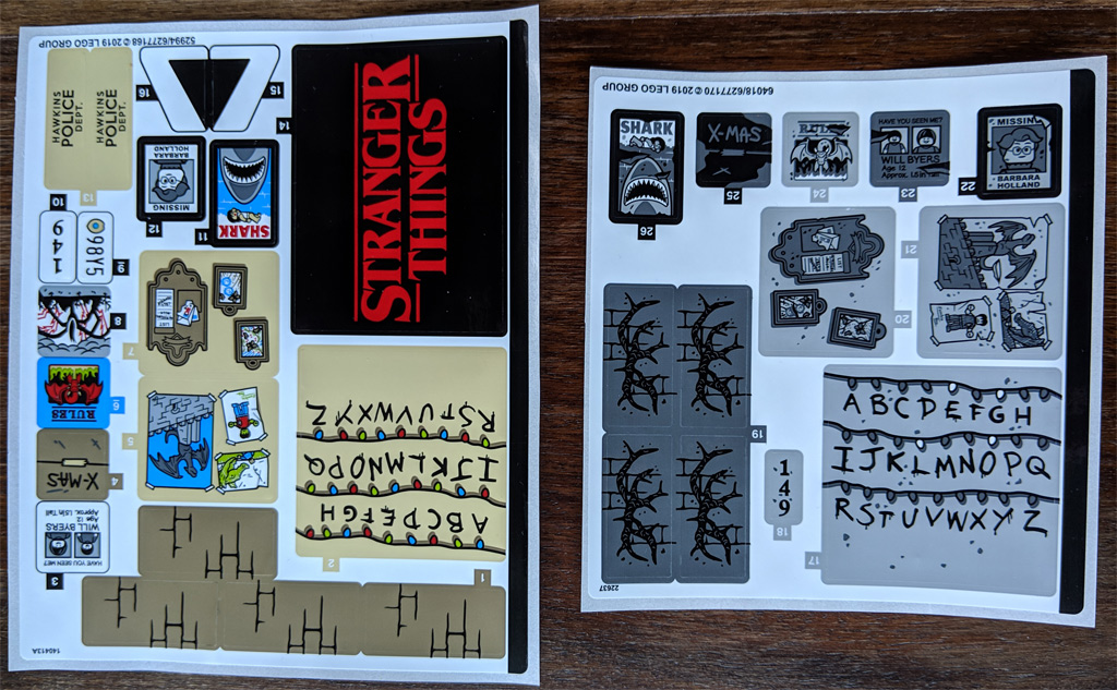 Lego Stranger Things The Upside Down 75810 Im Review
