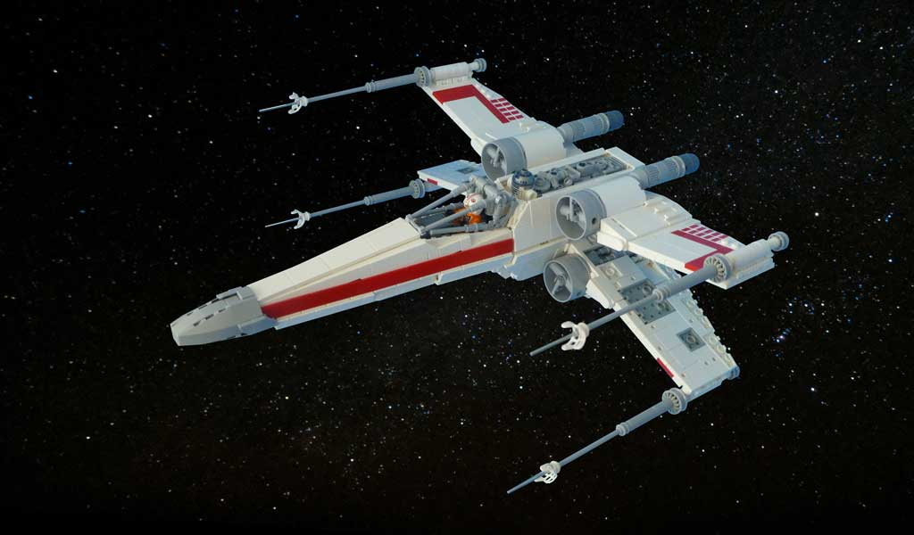 X-Wing by Mark Chan