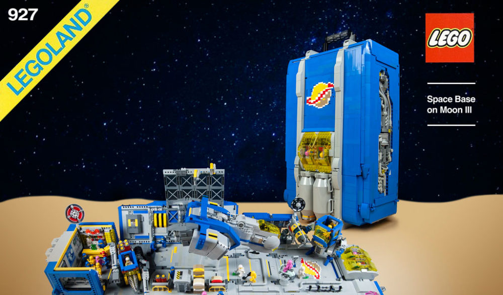 LEGO Classic Space Box by yu chris