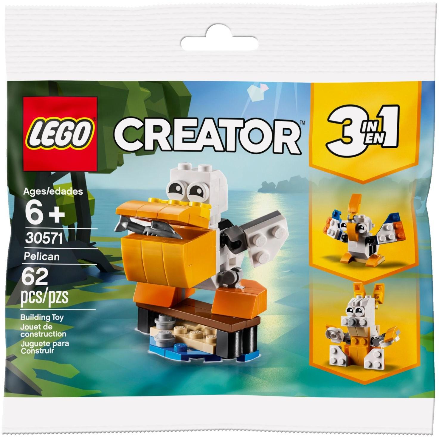 lego-creator-pelikan-30571-polybag-2019 zusammengebaut.com