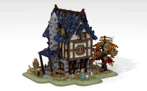 lego-ideas-medieval-blacksmith-namirob zusammengebaut.com