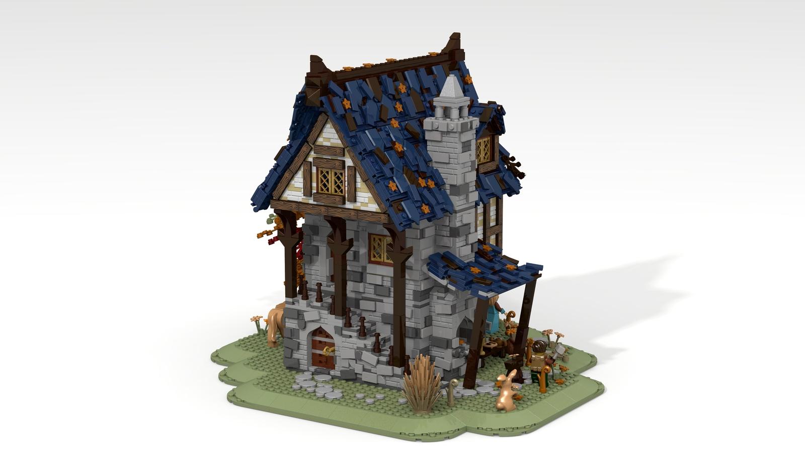 lego-ideas-medieval-blacksmith-rueckseite-namirob zusammengebaut.com