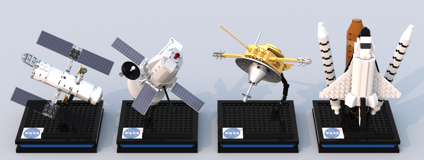 lego-ideas-nasa-spacecraft-micro-model-maker zusammengebaut.com