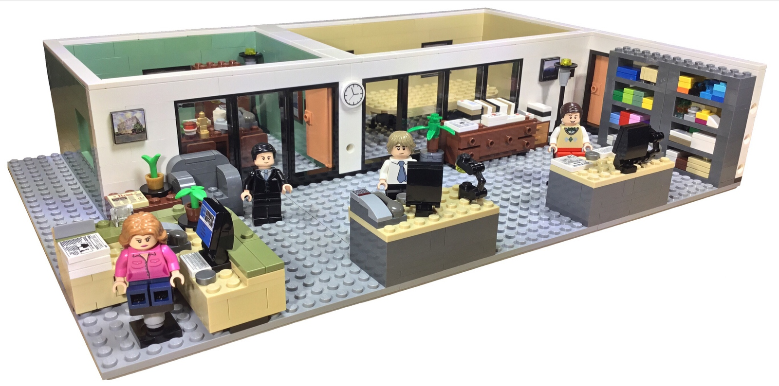 lego-ideas-the-office-buero-lego-the-office zusammengebaut.com