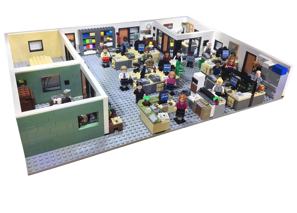 lego-ideas-the-office-lego-the-office zusammengebaut.com