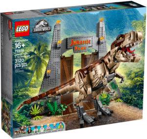 lego-jurassic-park-t-rex-rampage-75936-2019-box-vorderseite zusammengebaut.com
