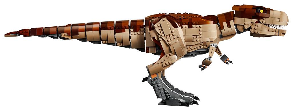 lego-jurassic-park-t-rex-rampage-75936-2019-dino-laenge zusammengebaut.com