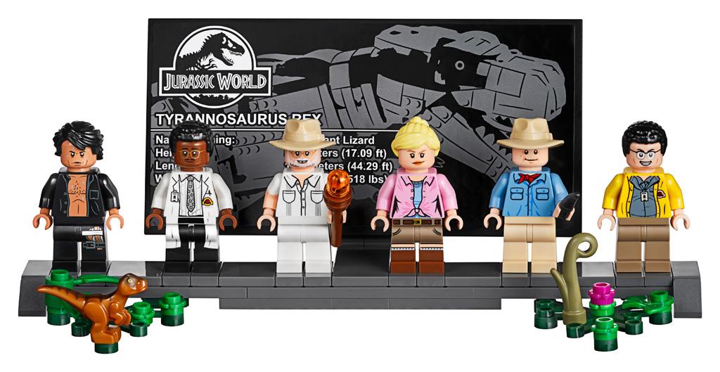 lego-jurassic-park-t-rex-rampage-75936-2019-minifiguren-stand-aufkleber zusammengebaut.com