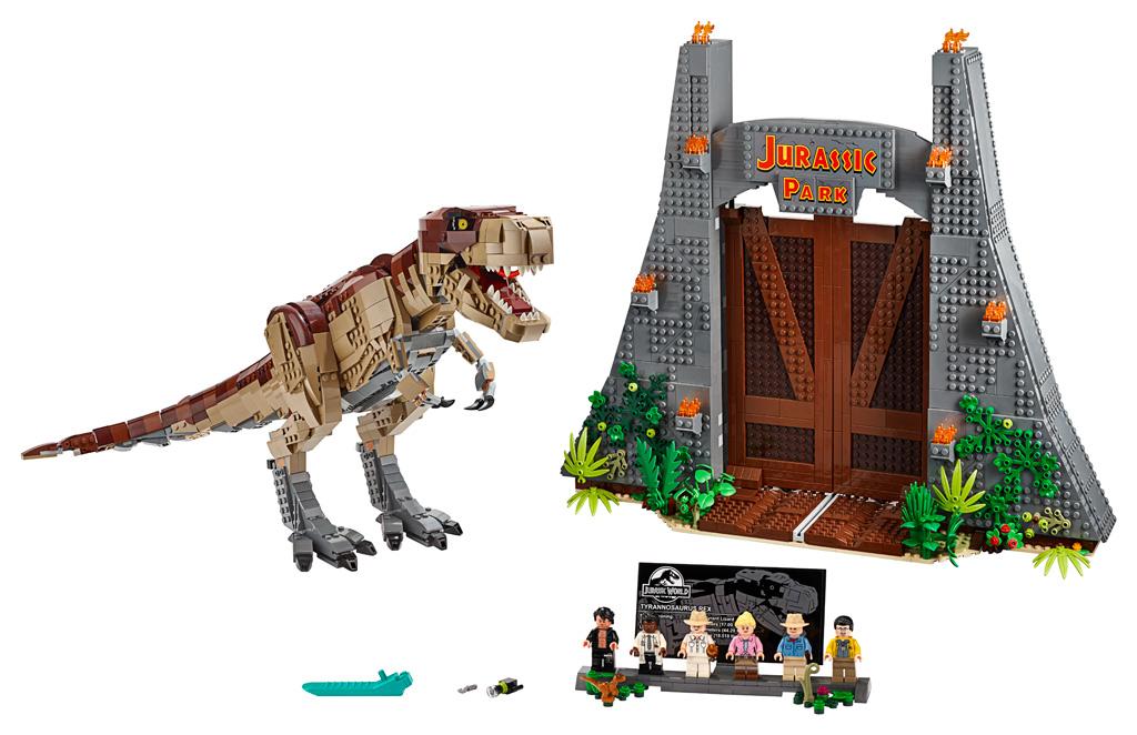 lego-jurassic-park-t-rex-rampage-75936-2019-uebersicht zusammengebaut.com