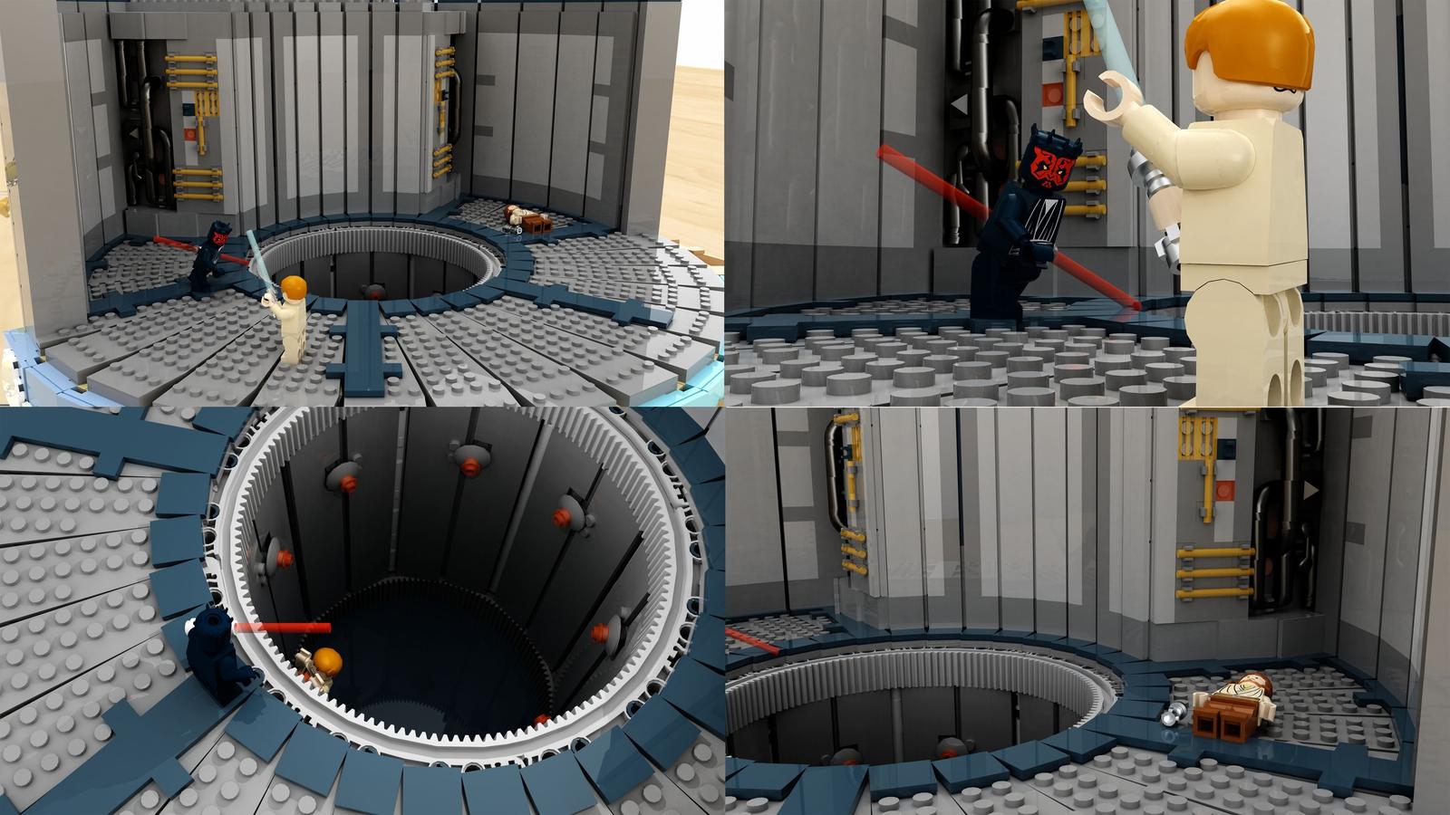 lego-star-wars-the-phantom-menace-diorama-lichtschwerter-krakenbrix-ideas zusammengebaut.com