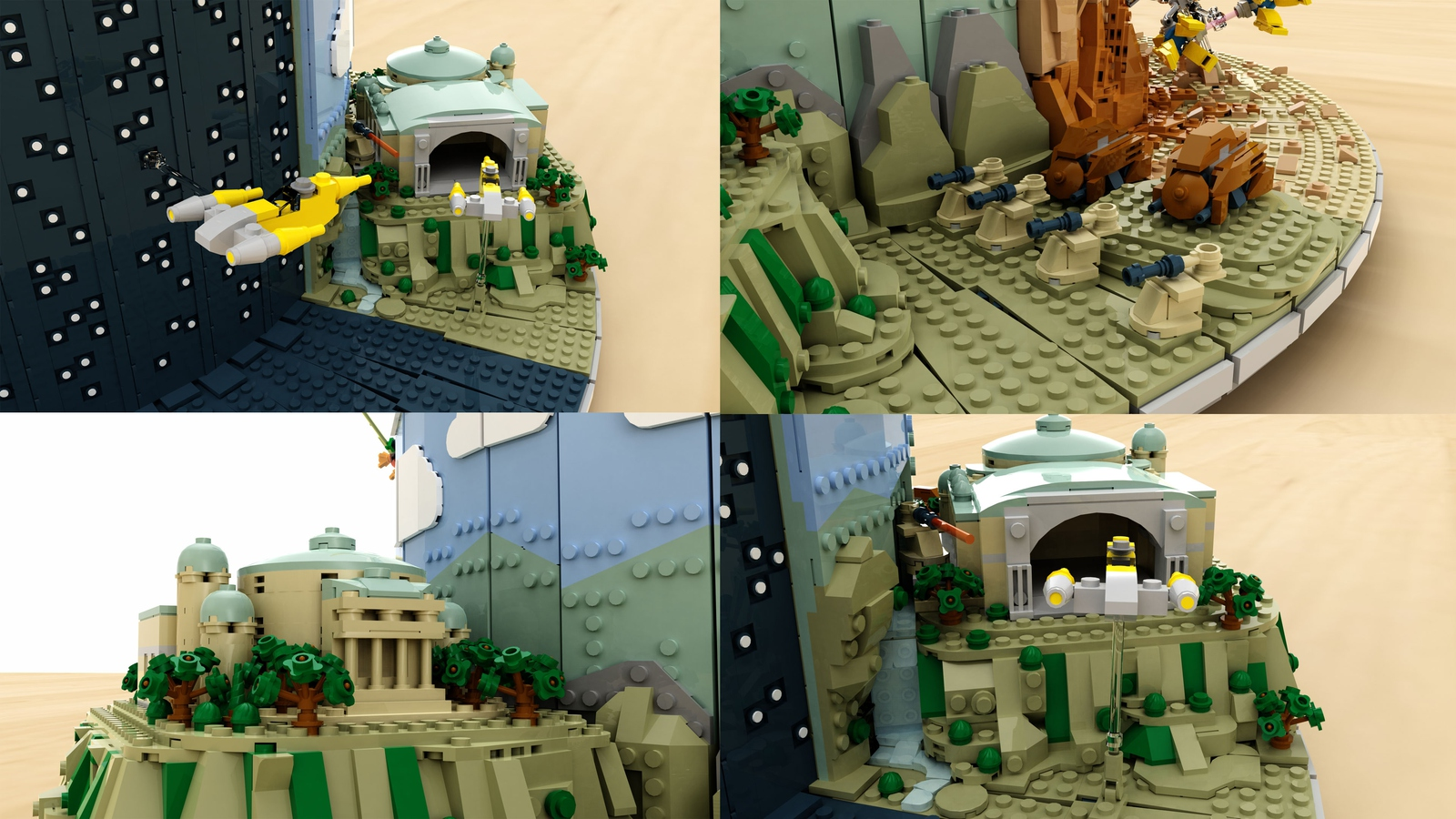 lego-star-wars-the-phantom-menace-diorama-naboo-krakenbrix-ideas zusammengebaut.com