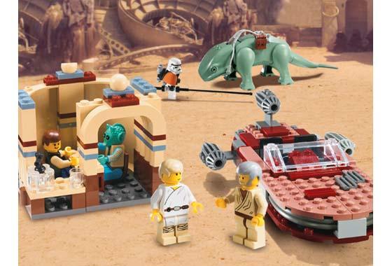 LEGO Star Wars Mos Eisley Cantina 4501 zusammengebaut.com