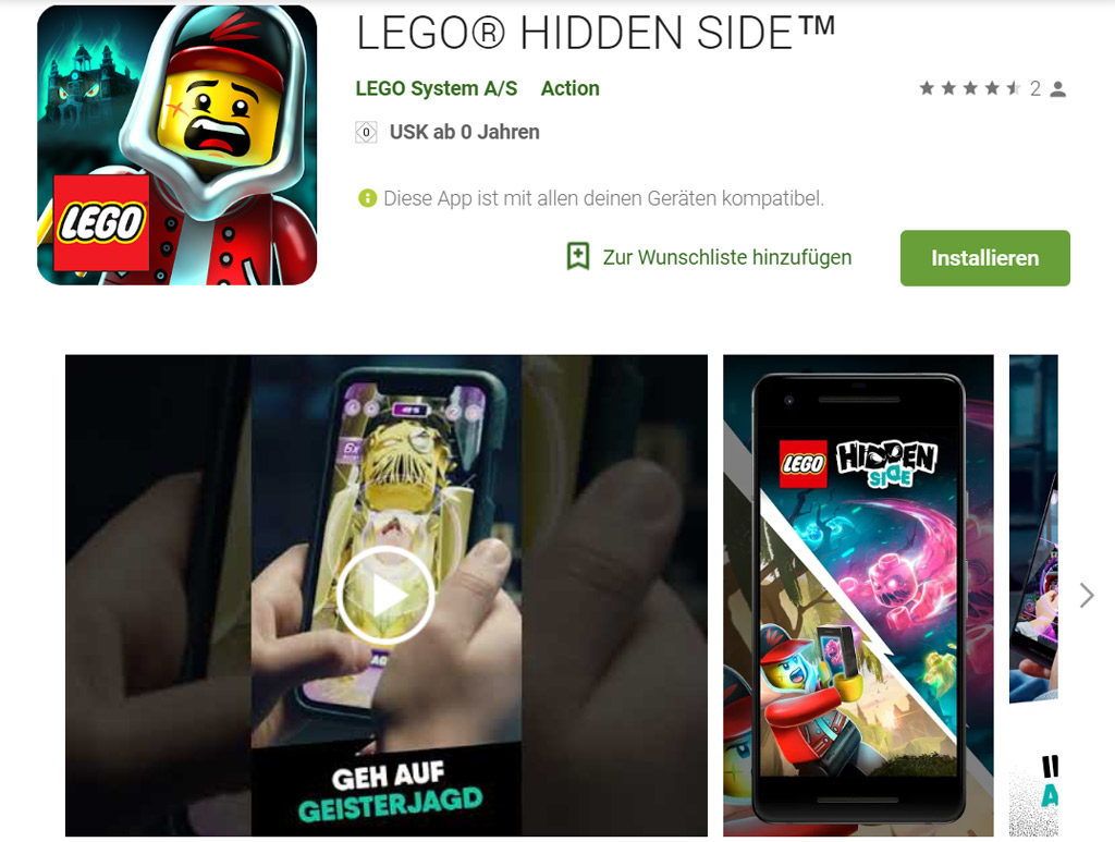Lego Hidden Side Sommer 2019 Ios Und Android App Zum Download Zusammengebaut