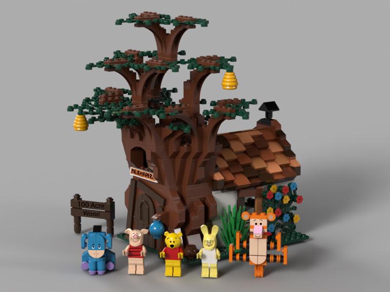 lego-ideas-winnie-the-pooh-benlouisa zusammengebaut.com