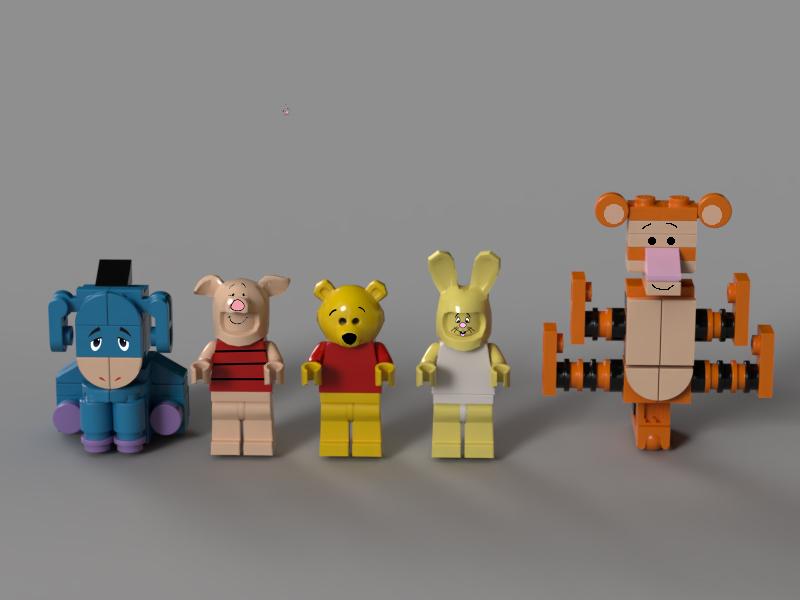 lego-ideas-winnie-the-pooh-figuren-benlouisa zusammengebaut.com
